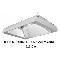 LUMINARIA LEC SUN SYSTEM 630W